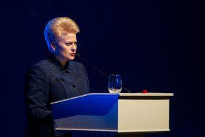 D. Grybauskaitė ekonomikos forume Davose diskutuos ir apie moterų lyderystę