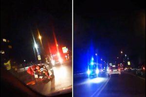 Kaune BMW vairuotojas partrenkė pėsčiąjį ir pabėgo