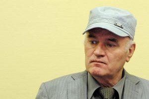 Maskva: verdiktas R. Mladičiui yra vienpusis