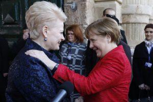 Rugsėjį planuojamas A. Merkel vizitas į Lietuvą