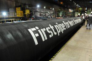 """Danijos parlamentas priėmė """"Nord Stream 2"""" projektą blokuojantį įstatymą"""