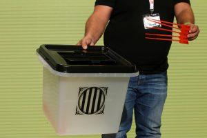 Katalonijos nepriklausomybės referendumui – daugiau nei 2 tūkst. balsavimo punktų