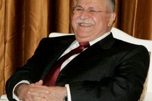 Mirė buvęs Irako prezidentas ir kurdų lyderis J. Talabani