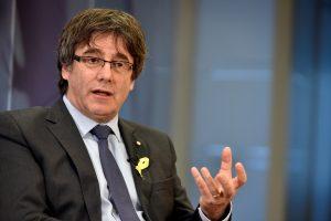 Buvęs Katalonijos prezidentas ragina Ispaniją atstatyti jo vyriausybę