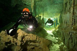 Meksikoje rastas 347 km ilgio povandeninis urvas
