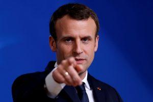 E. Macronas: Prancūzija ketina smogti Sirijos objektams