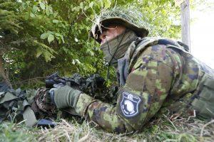 Estijoje baigėsi didžiausios šalies istorijoje karinės pratybos
