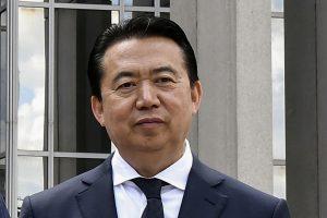 Interpolo vadovas atsistatydino Pekinui tiriant jo įtariamą kyšininkavimą