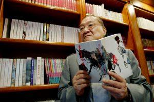 Mirė kinų literatūros milžinas Louisas Cha