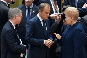 """D. Grybauskaitė: """"Brexit"""" chaosas nukelia ES derybas dėl naujo biudžeto"""