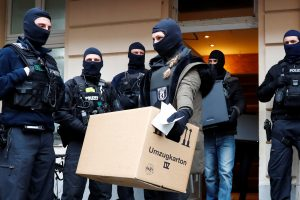 Vokietijoje sulaikytas rusas, galimai mėginęs išvežti karinės paskirties prekių