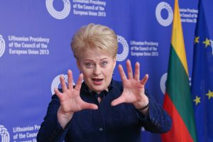 D. Ulvydas: norėjau atskleisti, koks žmogus yra D. Grybauskaitė
