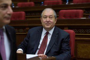 Armėnijos parlamentas prezidentu išrinko A. Sargsianą