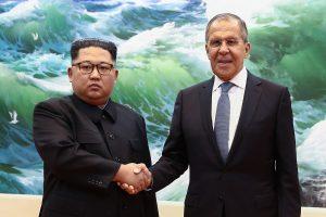 S. Lavrovo vizitas Š. Korėjoje: kokių interesų turi abi šalys