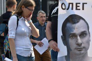 Ukraina Europos teisme pateikė naują pareiškimą prieš Maskvą dėl O. Sencovo kalinimo