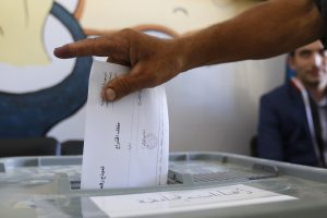 Sirijoje pirmąkart nuo 2011-ųjų vyksta vietos rinkimai