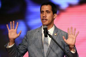 Venesuelos prezidentu pasiskelbęs J. Guaido neatmeta karinės intervencijos galimybės