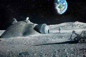 Rusija ir JAV bendradarbiaus dėl pirmosios Mėnulio stoties