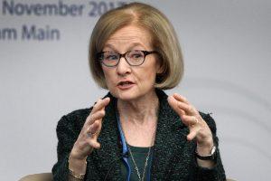 """ECB atstovė: po """"Brexit"""" iš Londono nori išsikelti apie 50 bankų"""
