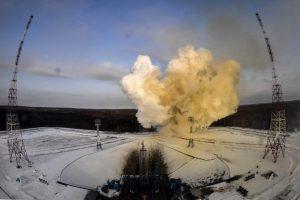 Dėl nesėkmingo raketos paleidimo rusai žada ieškoti kaltų
