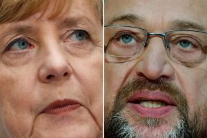 Vokietijos socialdemokratų lyderis – už derybas su A. Merkel