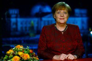 A. Merkel pagrindiniu naujosios vyriausybės prioritetu skelbia Europą