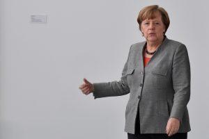 A. Merkel: Vokietija neišsižada atsakomybės už Holokaustą