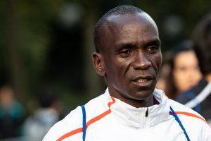 Kenijos maratonininkas E. Kipchogė pagerino pasaulio rekordą