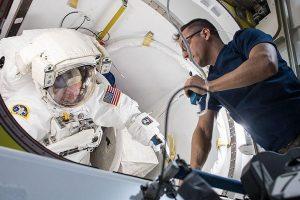 Astronautai atliko vieną svarbiausių darbų