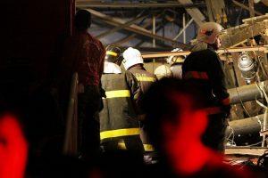 San Paule užsiliepsnojo ir sugriuvo daugiaukštis pastatas