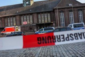 Vokietijoje traukinyje keleivį užpuolęs vyras buvo pabėgėlis