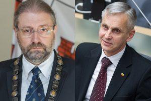 Panevėžyje į antrąjį turą mero rinkimuose žengia R. M. Račkauskas ir P. Urbšys