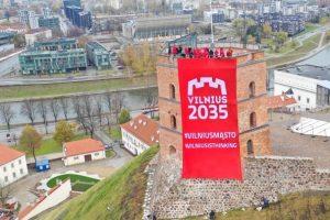 """Strateginė vizija ir ateities planas """"Vilnius 2035""""  startuoja Gedimino bokšte"""