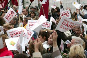 Tarptautinė darbo diena: ar lietuviams šiemet yra ką švęsti?