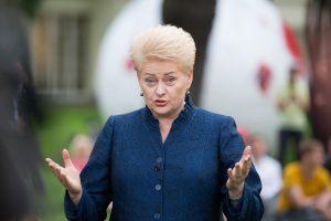 """NSGK tyrimą prezidentė vadina """"Seimo nuomone"""" bei laukia konkrečių pasiūlymų"""