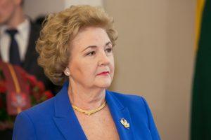 K. Brazauskienė Lietuvą palieka ramia širdimi: gyvenu geriau nei bet kada