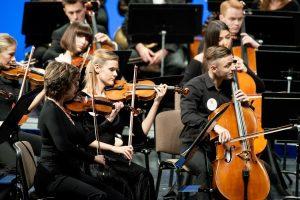 LMTA Simfoninio orkestro ruduo – ypatingas