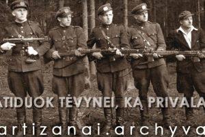 Sukurtas partizanų dokumentų elektroninis archyvas