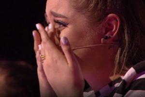 Monika Marija nesuvaldė ašarų