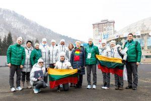 Olimpiečiams – dovanos iš prezidentės rankų