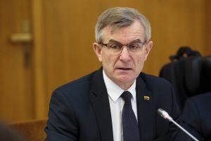 Seimo pirmininkui teko atsakinėti į A. Širinskienės komisijos klausimus