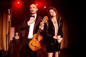 J. Didžiulio ir E. Jennings eurovizinės dainos klipe – dvi pabaigos