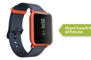 """Išmaniojo laikrodžio """"Xiaomi Amazfit Bip"""" apžvalga"""