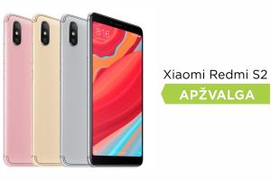 """Ko tikėtis iš išmaniojo telefono """"Xiaomi Redmi S2""""? (apžvalga)"""