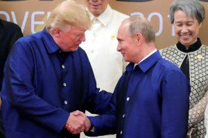 Kremlius: per V. Putino ir D. Trumpo susitikimą Krymo klausimas nebus svarstomas