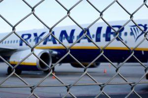 """""""Ryanair"""" perspėja – jei vyks streikai, Vokietijoje gali būti naikinamos darbo vietos"""
