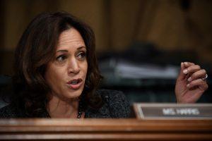 Senatorė K. Harris pranešė apie savo planus siekti JAV prezidento posto
