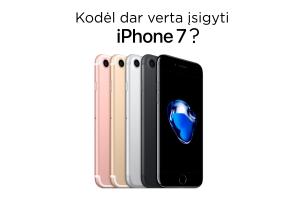 """Penkios priežastys įsigyti """"iPhone 7"""" 2019 metais"""