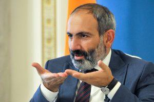 N. Pašinianas: Armėnijai gresia karas su Azerbaidžanu