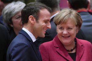 """Prancūzija ir Vokietija artėjant """"Brexit"""" nauja sutartimi stiprins dvišalius ryšius"""